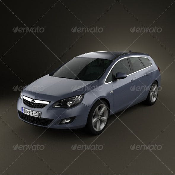 Opel Astra Tourer 2011