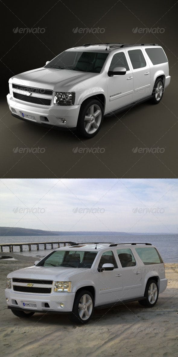 Chevrolet Suburban  - 3DOcean Item for Sale