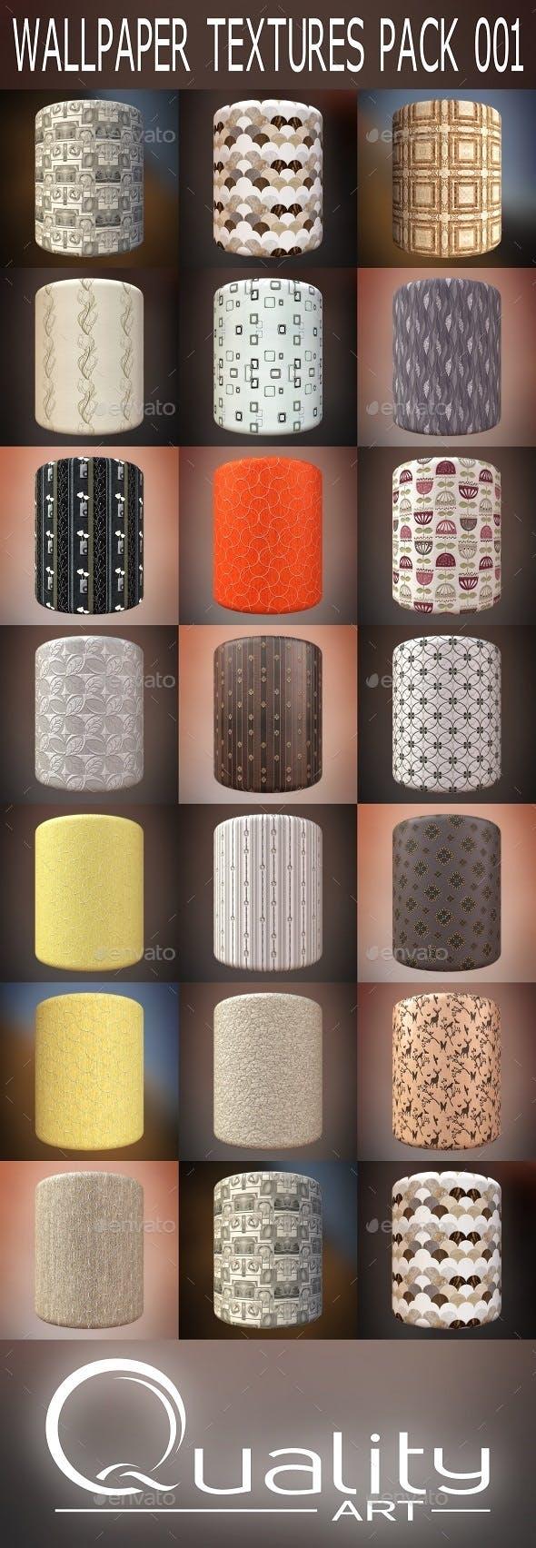 Wallpaper Textures Pack 001 - 3DOcean Item for Sale