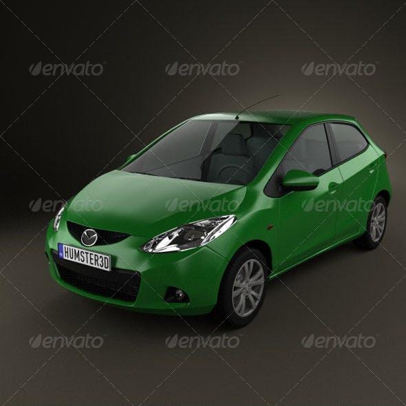 Mazda 2 5door 2010
