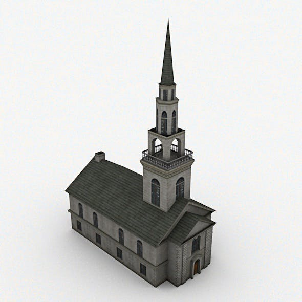 Church Low Poly