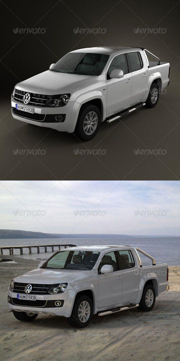 Volkswagen Amarok CrewCab 2011  - 3DOcean Item for Sale