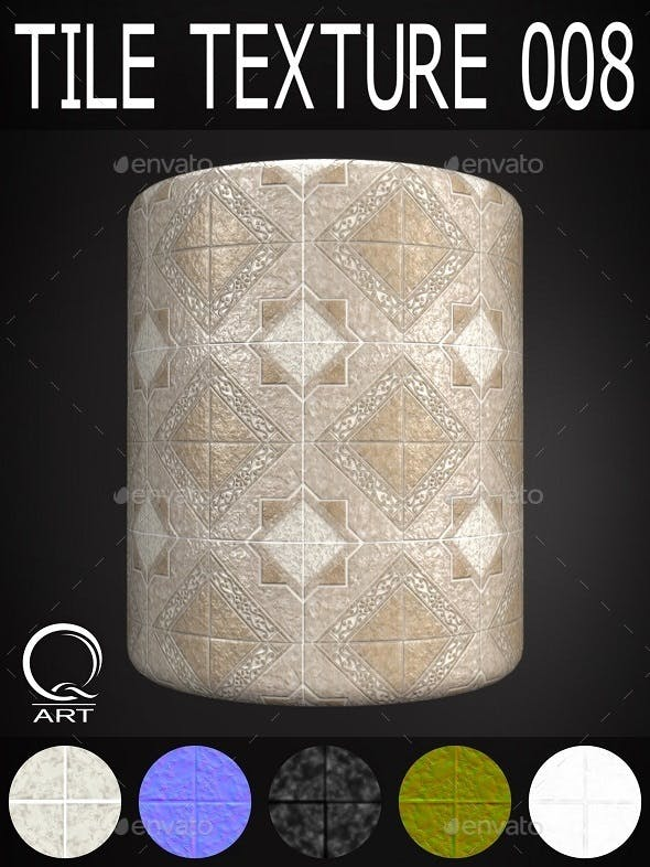Tile Textures 009 - 3DOcean Item for Sale
