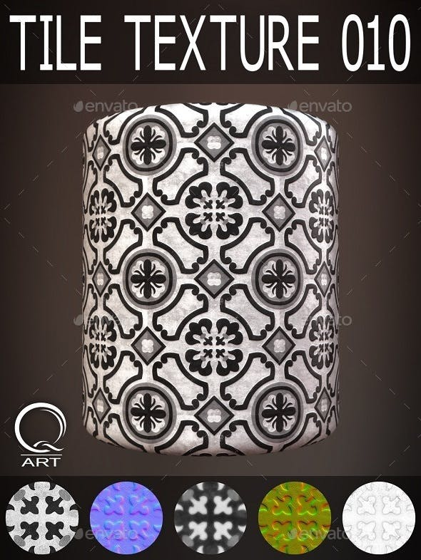 Tile Textures 010 - 3DOcean Item for Sale
