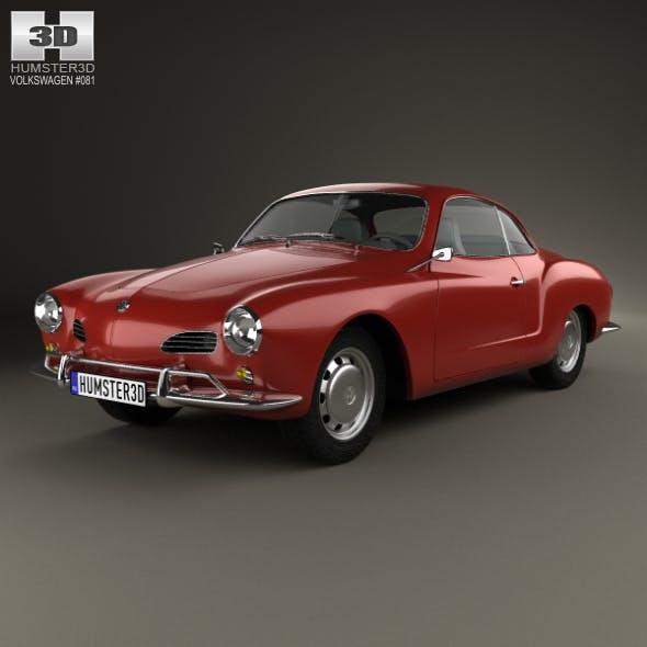 Volkswagen Karmann Ghia 1955 - 3DOcean Item for Sale