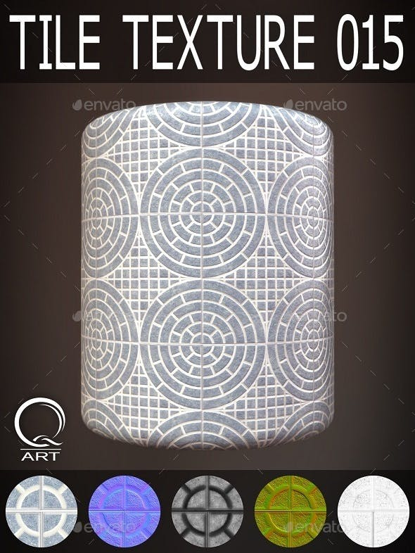 Tile Textures 015 - 3DOcean Item for Sale