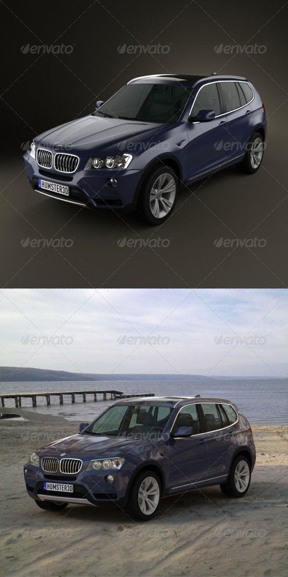 BMW X3 2011  - 3DOcean Item for Sale