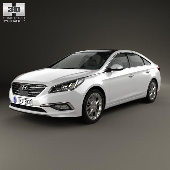 Hyundai Sonata (LF) 2015