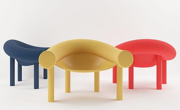 Sam Son chair - 3DOcean Item for Sale