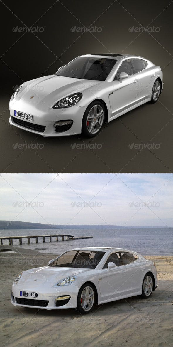 Porsche Panamera 2010  - 3DOcean Item for Sale
