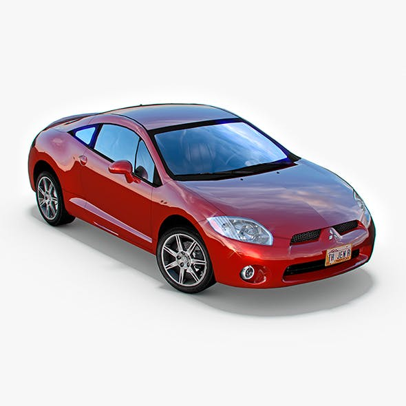 Mitsubishi Eclipse GT 2006 - 3DOcean Item for Sale