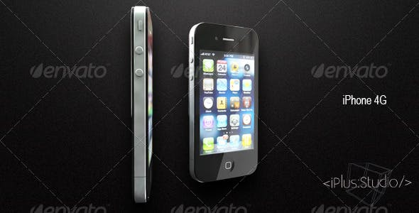 iPhone 4G - 3DOcean Item for Sale