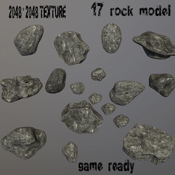 Rock_Set_09 - 3DOcean Item for Sale