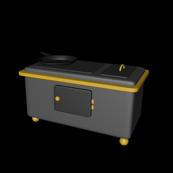 Oven 3D mdoel