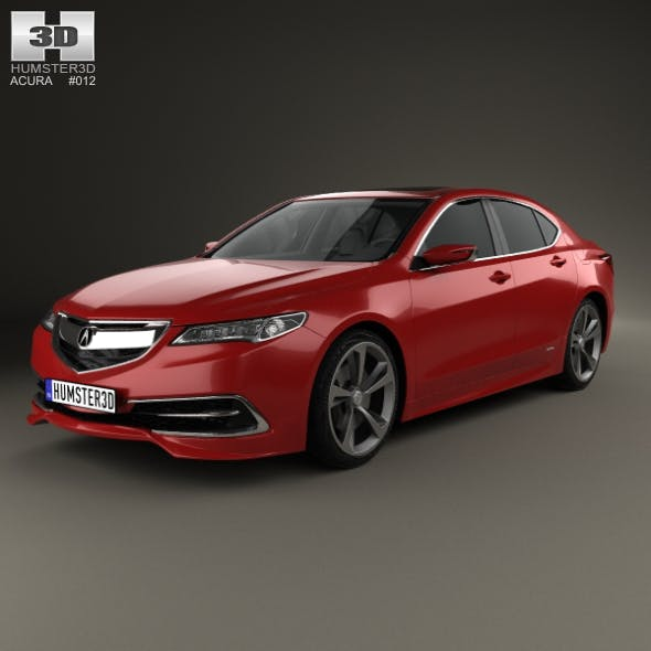 Acura TLX Concept 2015 - 3DOcean Item for Sale