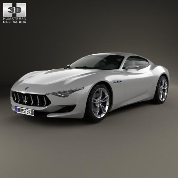 Maserati Alfieri 2014 - 3DOcean Item for Sale