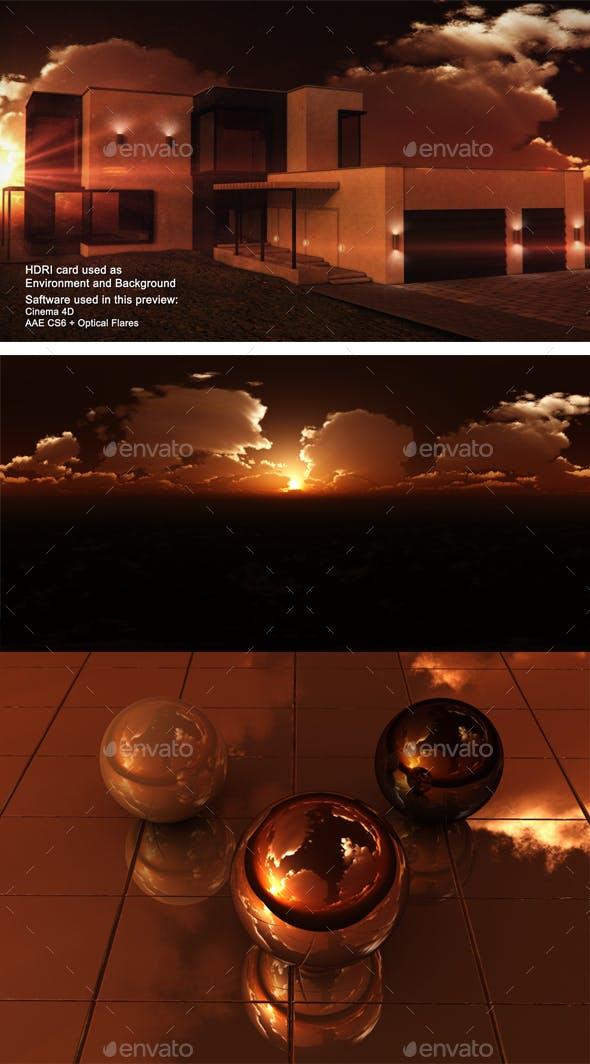 Sunset Desert 35 - 3DOcean Item for Sale