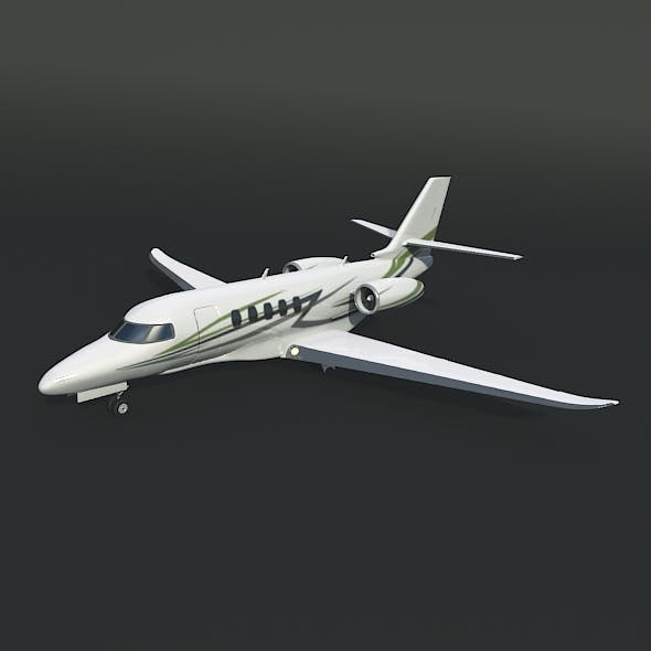Cessna Citation Latitude private jet - 3DOcean Item for Sale