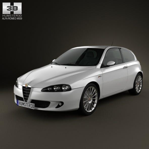 Alfa Romeo 147 3door 2009 - 3DOcean Item for Sale