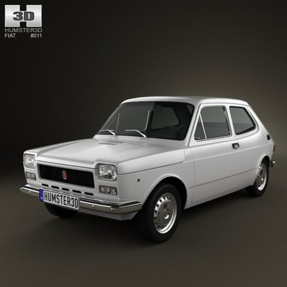 Fiat 127 1975 - 3DOcean Item for Sale