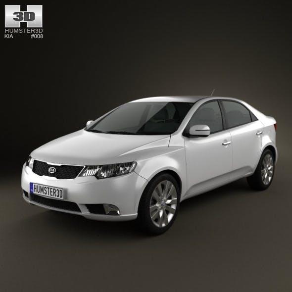 Kia Forte (Cerato, Naza) Sedan 2011