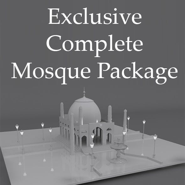 Complete Mosque Model