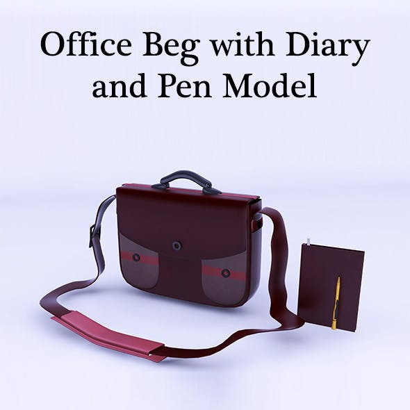 Office Beg with Diary and Pen