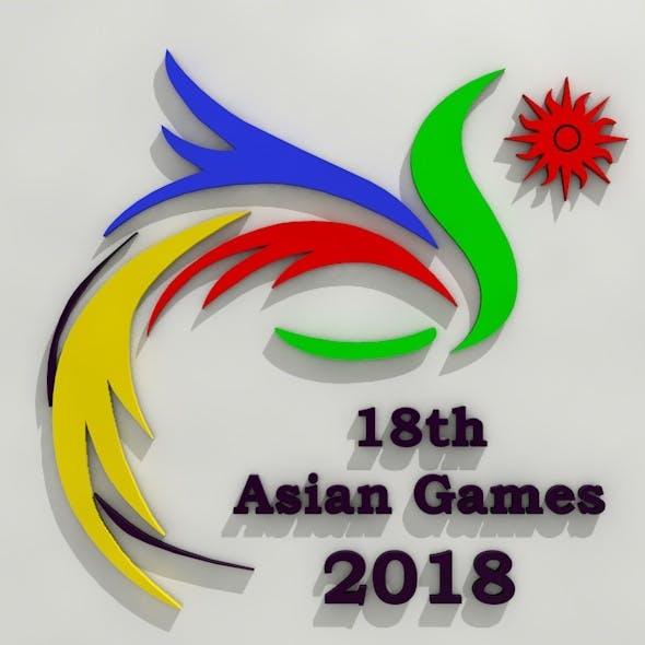 Asian Games 2018 Jakarta - 3DOcean Item for Sale