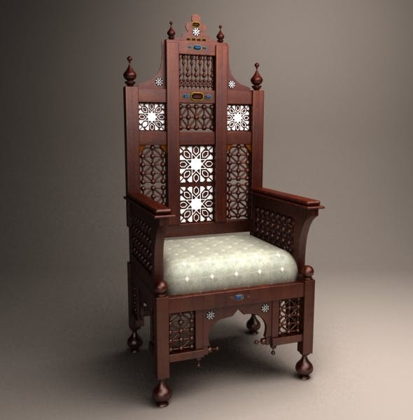 Arabian Chair - 3DOcean Item for Sale