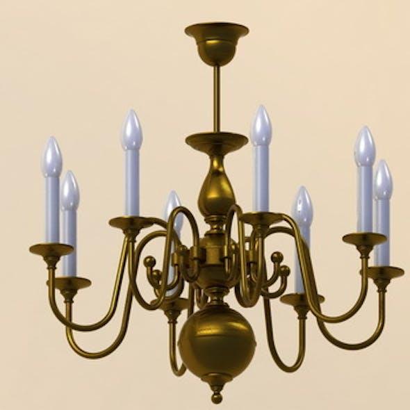 Classic pendant lamp