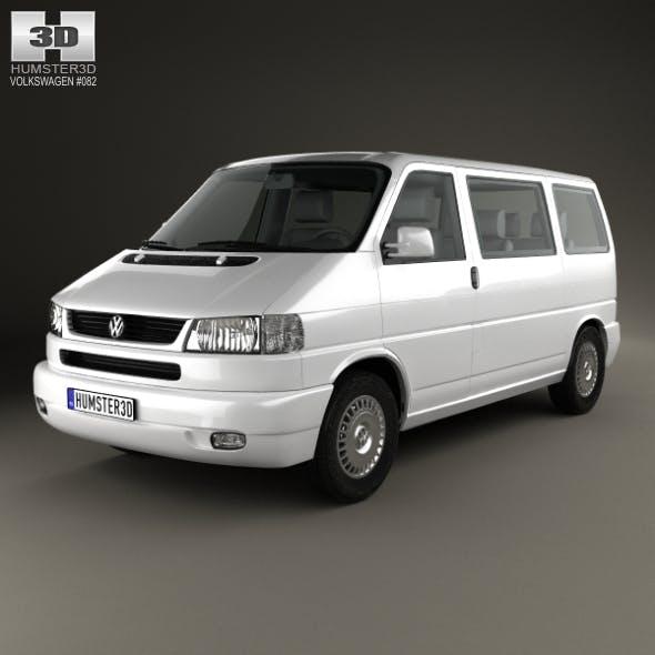 Volkswagen Transporter (T4) Caravelle 1996 - 3DOcean Item for Sale