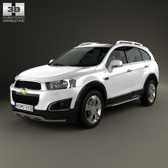 Chevrolet Captiva LTZ 2013 - 3DOcean Item for Sale