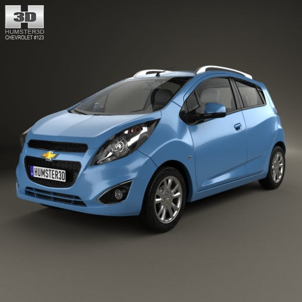 Chevrolet Spark LS 2013 - 3DOcean Item for Sale