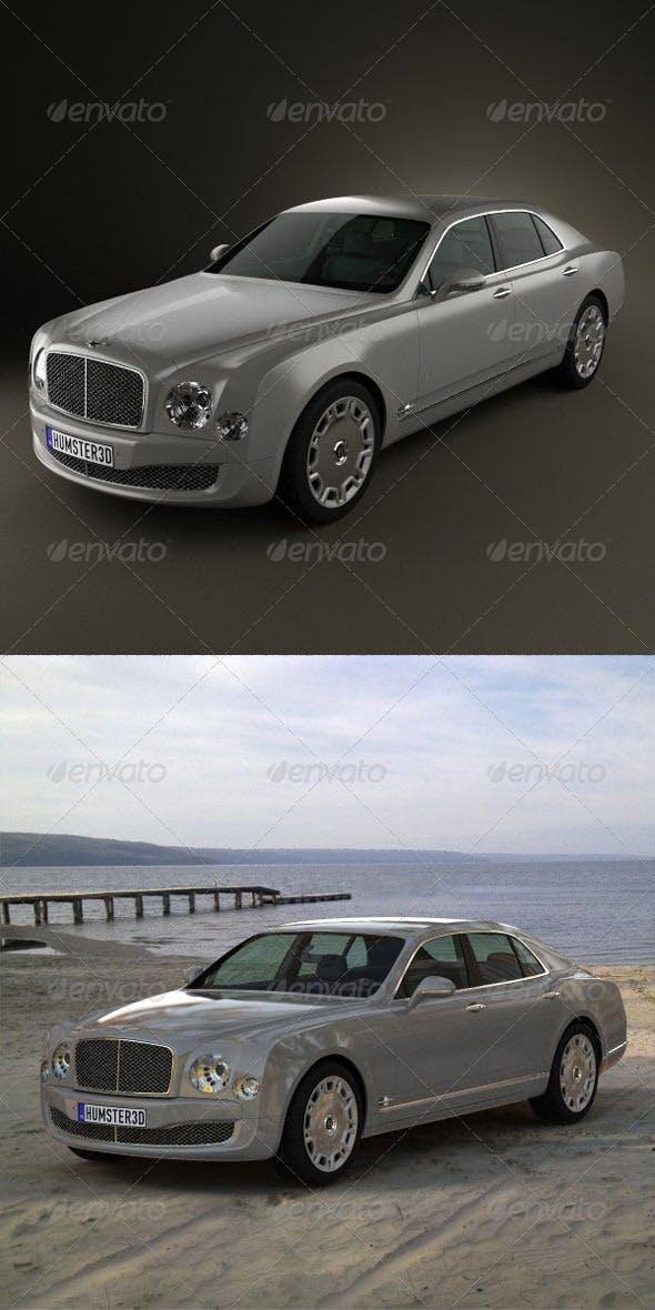Bentley Mulsanne 2011  - 3DOcean Item for Sale