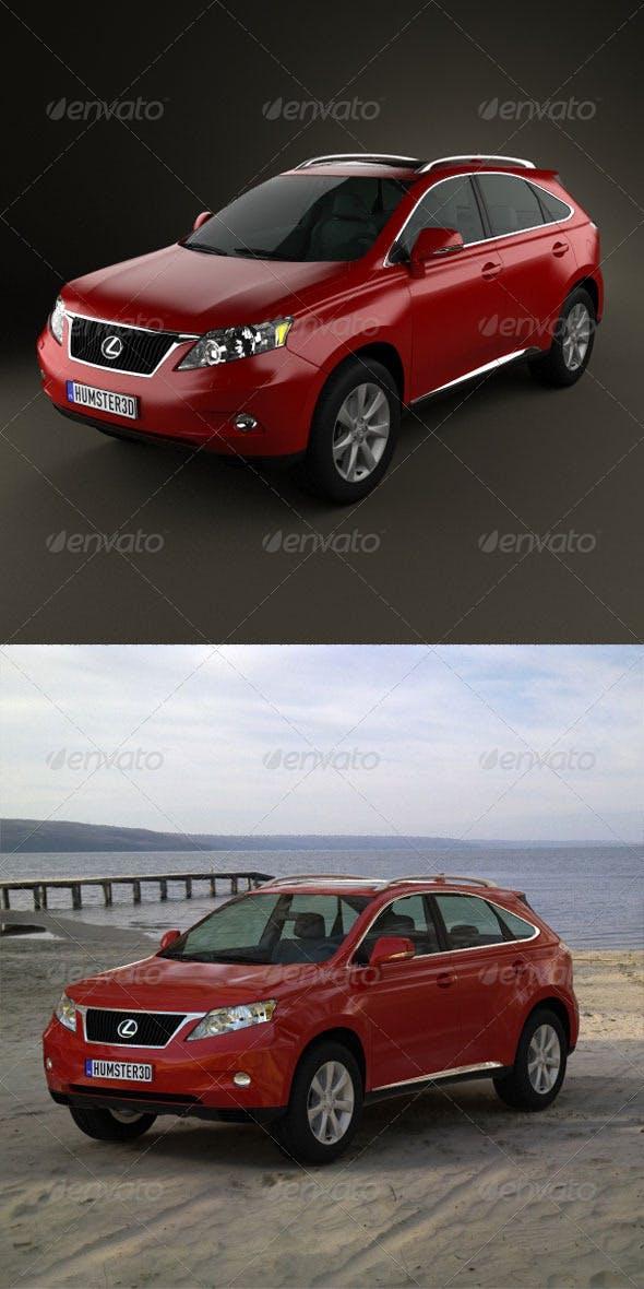 Lexus RX 2010  - 3DOcean Item for Sale