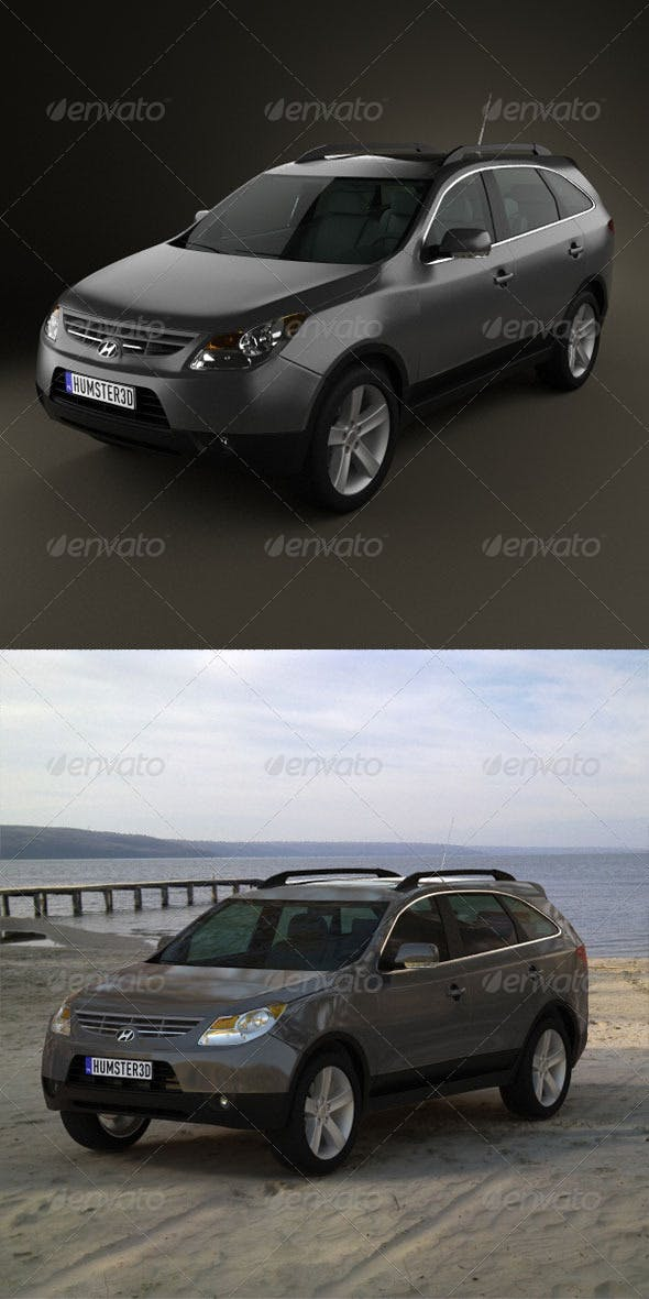 Hyundai ix55 Veracruz 2011  - 3DOcean Item for Sale