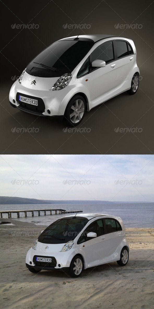 Citroen C-zero 2011  - 3DOcean Item for Sale