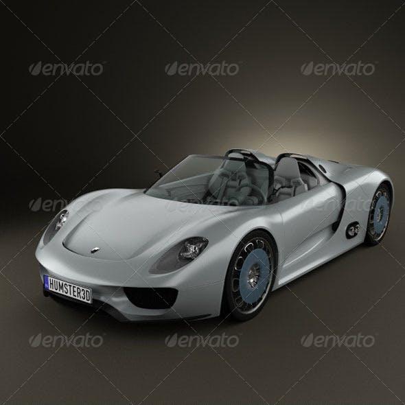 Porsche 918 spyder 2011
