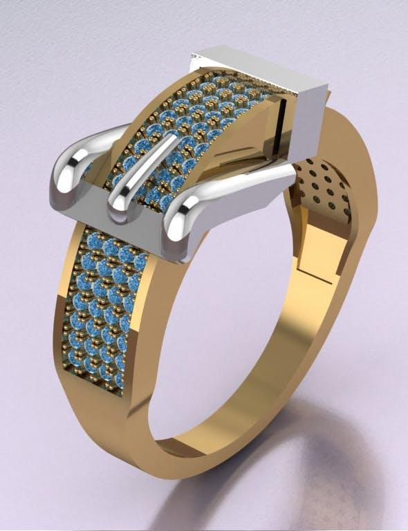 Belt Ring - 3DOcean Item for Sale