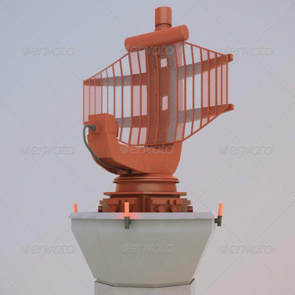 Airport Radar - 3DOcean Item for Sale