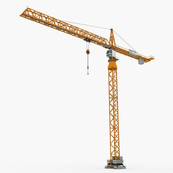 Tower Crane - 3DOcean Item for Sale