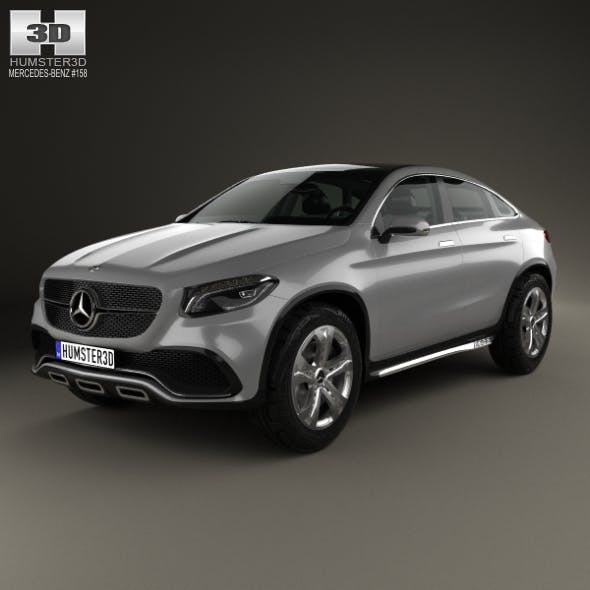 Mercedes-Benz Coupe SUV 2014 - 3DOcean Item for Sale