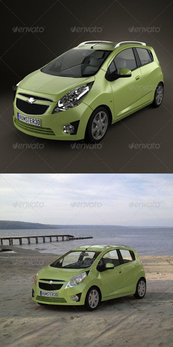 Chevrolet Beat 2010  - 3DOcean Item for Sale