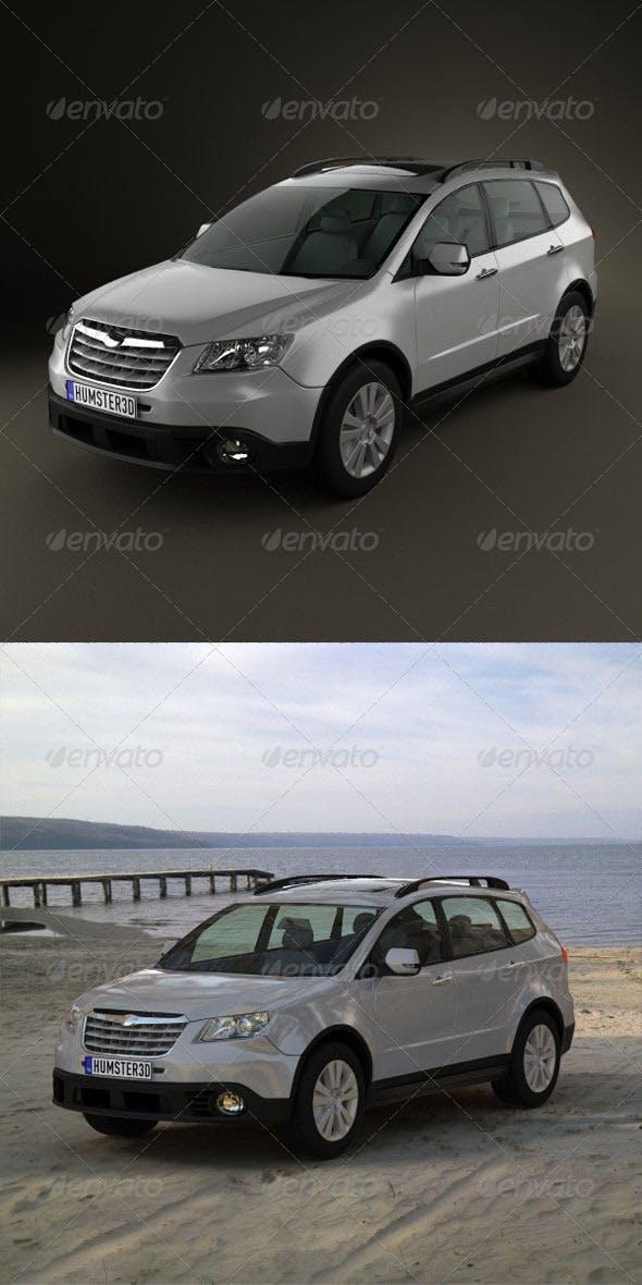 Subaru Tribeca 2010  - 3DOcean Item for Sale