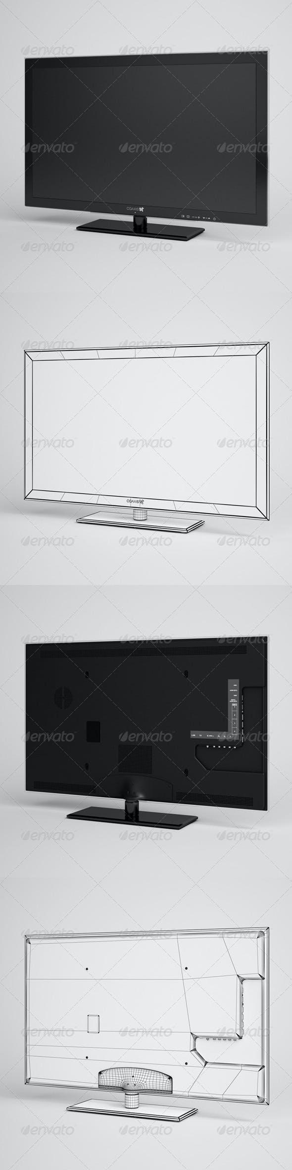 CGAxis TV Flatscreen Electronics 02 - 3DOcean Item for Sale