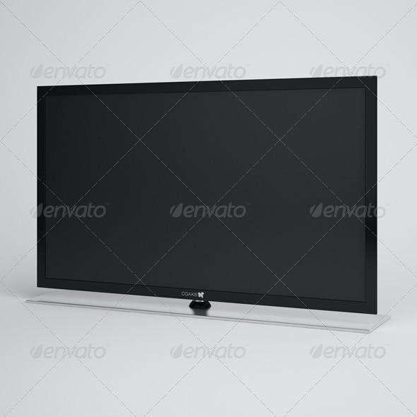 CGAxis Flatscreen TV Electronics 03