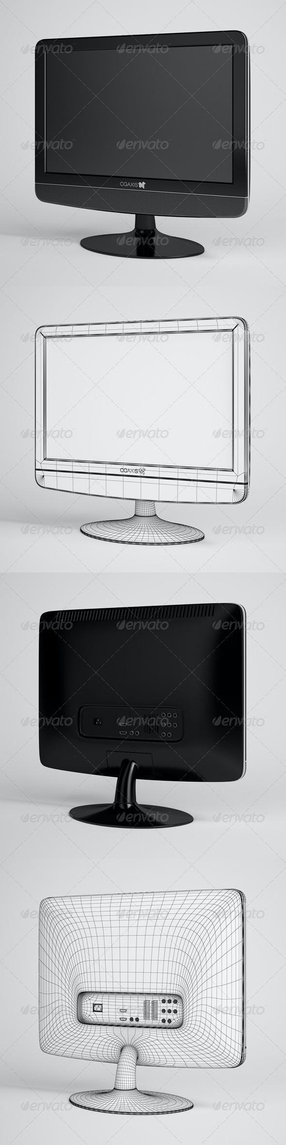 CGAxis Flatscreen TV Electronics 05 - 3DOcean Item for Sale