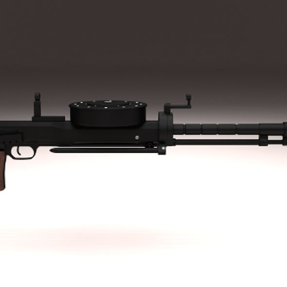 Degtyaryov DT Machine Gun