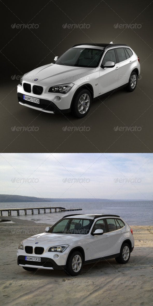 BMW X1 2010  - 3DOcean Item for Sale