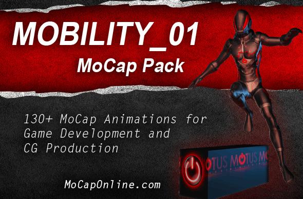 MOBILITY_01: MoCap Pack - 3DOcean Item for Sale
